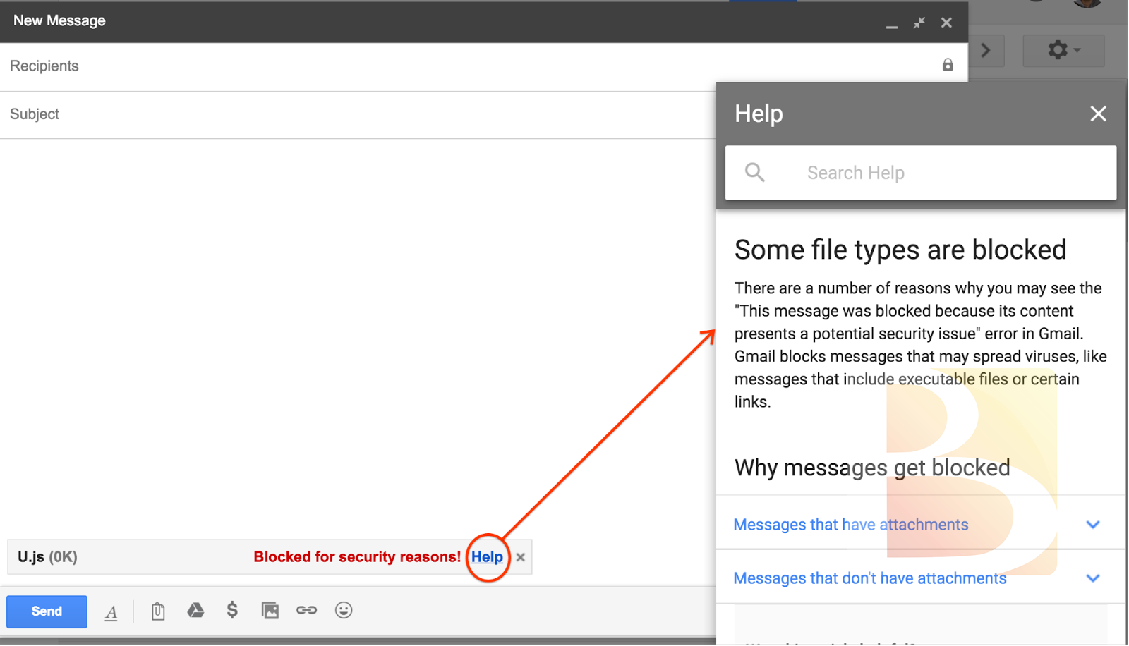 Gmail to block .js files starting February 13, 2017